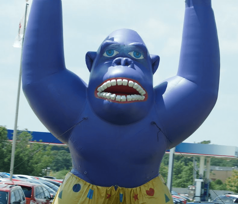 Is Geo-Fencing the new inflatable gorilla?