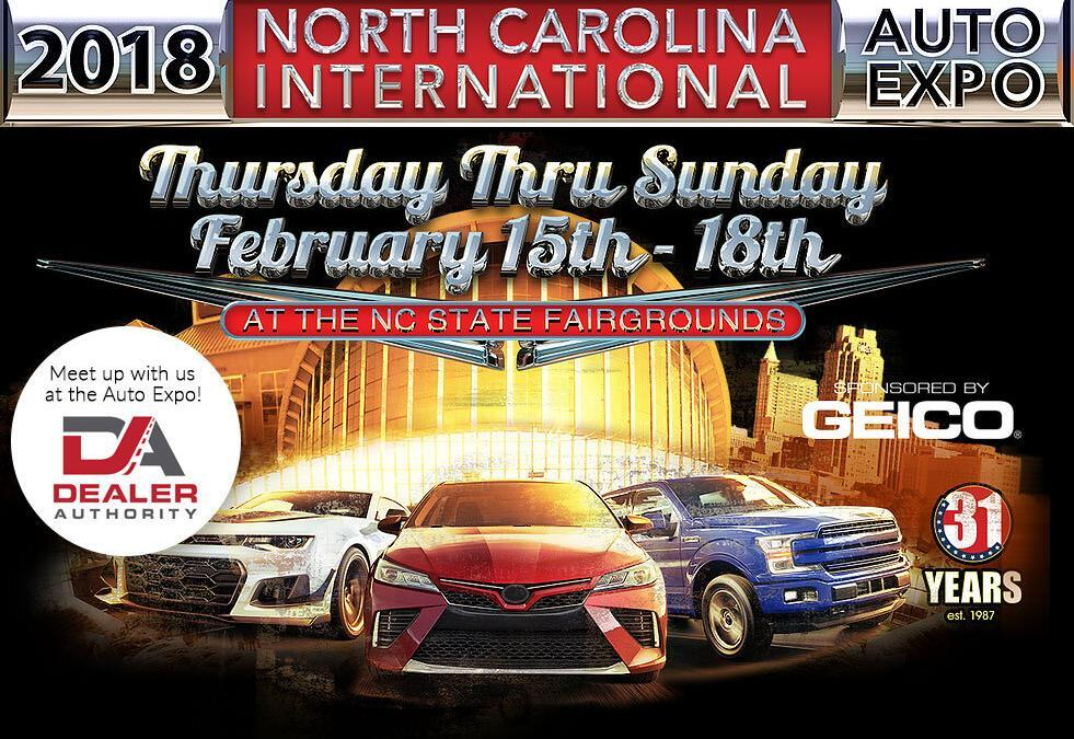 Meet Up with Dealer Authority at the North Carolina International Auto Expo This Week