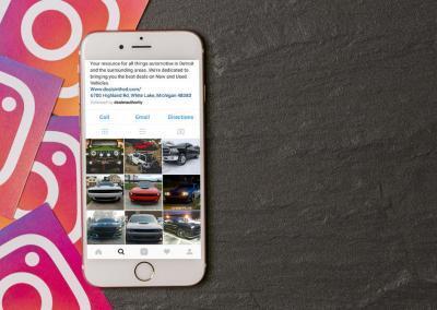 Instagram for car dealers