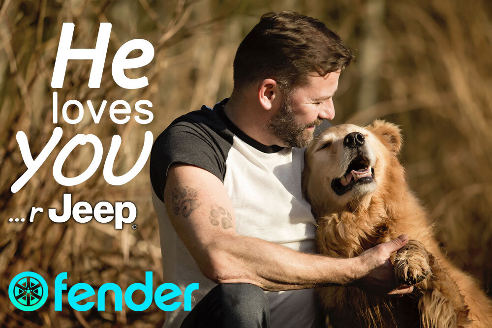 He Loves Your Jeep- Fender®