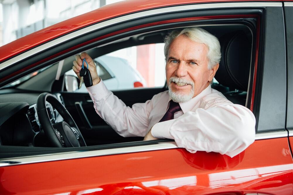 Stoic, Wise Grandfather Dealership Personality