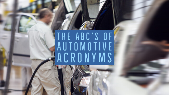The ABC's of Automotive Acronyms