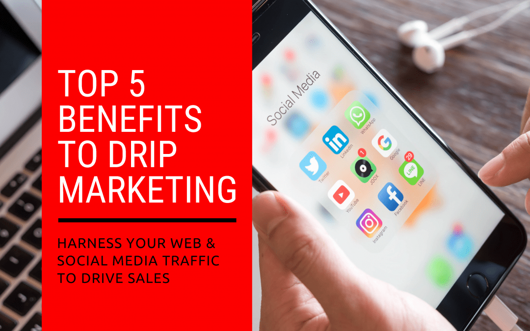 Top 5 Benefits to Drip Marketing
