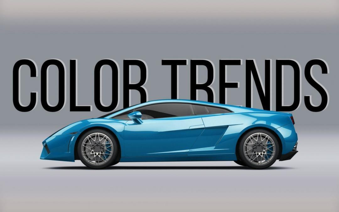 Automotive Color Trends in 2019