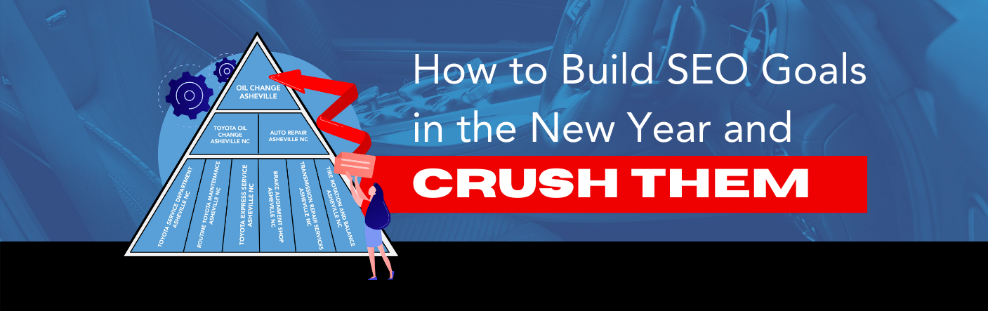 How to Build SEO Goals and Crush Them in the New Year