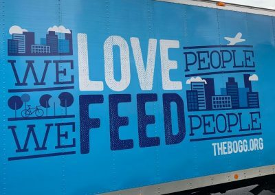 We Feed People Non-Profit Truck